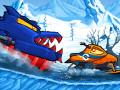 Jeux Car Eats Car: Winter Adventure