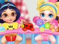 Jeux Messy Baby Princess Cleanup