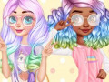 Jeux Princesses Kawaii Looks and Manicure